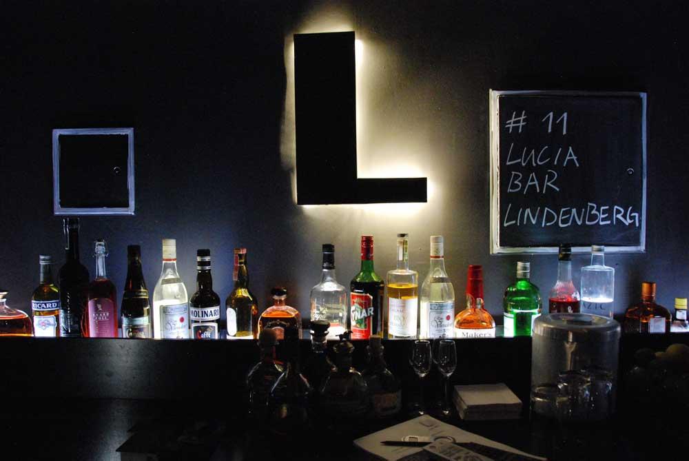 tolle Bar im Keller im Lindenberg