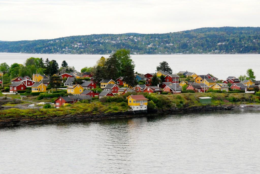 Aussicht mini Kreuzfahrt nach Oslo DFDS Seaways